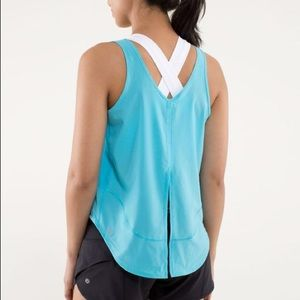 Lululemon Run Featherweight Split Back Tank
